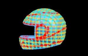 UG6.0逆向造型—摩托车头盔(提供源文件下载)